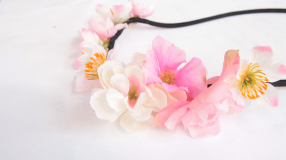 Floral headband by shopsunkissed on etsy