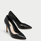 High heel leather court shoes - essentials-shoes-woman | zara united states
