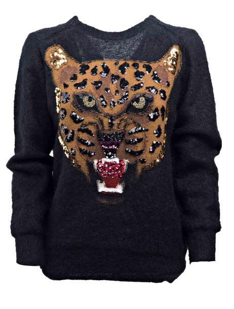 Junya Watanabe jumper tiger black sweater