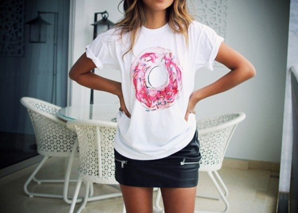 t-shirt white t-shirt shirt white graphic tee t-shirts skirt