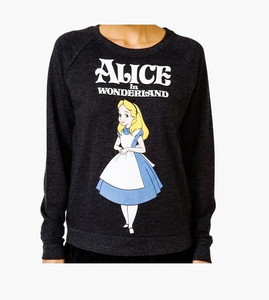 Disneys Alice In Wonderland Pullover Sweater Size S Small Ebay