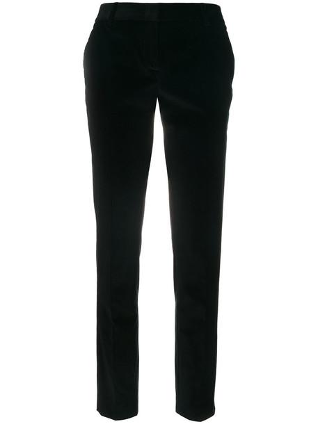 Tonello pants velvet pants women classic spandex cotton black velvet