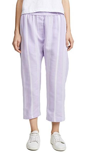 Paradised pants beach pants beach lilac