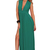Deep V Jewel Green Double Split Maxi Dress — GIRL CRUSH BOUTIQUE