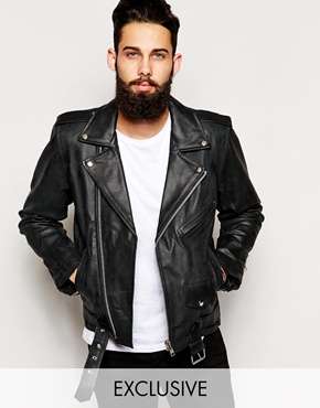 leather jackets | Leather coat and biker jacket styles | ASOS