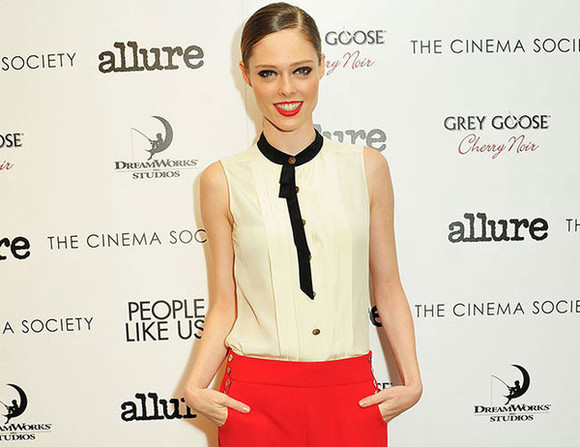 red pants coco rocha