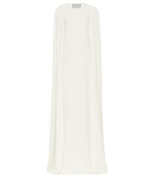 Stella McCartney Crêpe gown in white