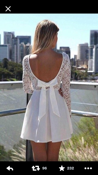 white dress lace dress