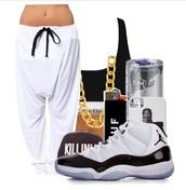 snap backs,killin it,gold chain,drop crotch pants,harem pants,ASAP Rocky,calvin klein underwear,shoes