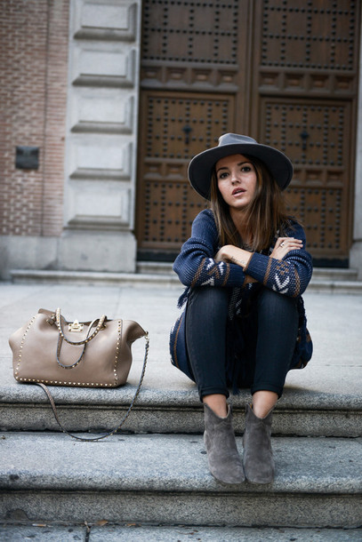lovely pepa blogger jacket jeans t-shirt bag jewels