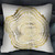 gold tree rings pillow case