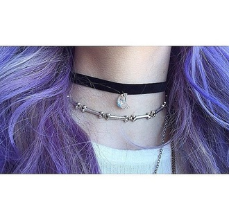 jewels choker necklace bones