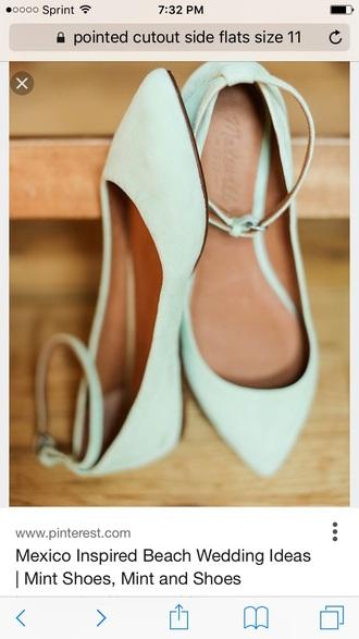 shoes ankle strap ballet flats flats