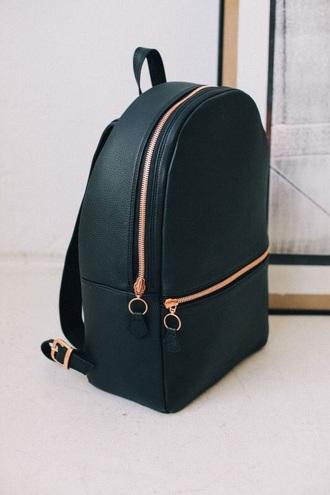 bag black backpack zip back to school