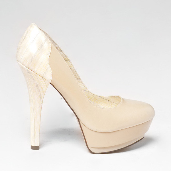 shoes heels michael antonio beige beige heels