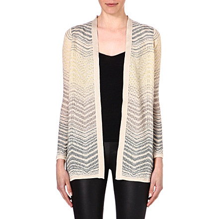 M MISSONI - Semi-sheer knitted cardigan | Selfridges.com