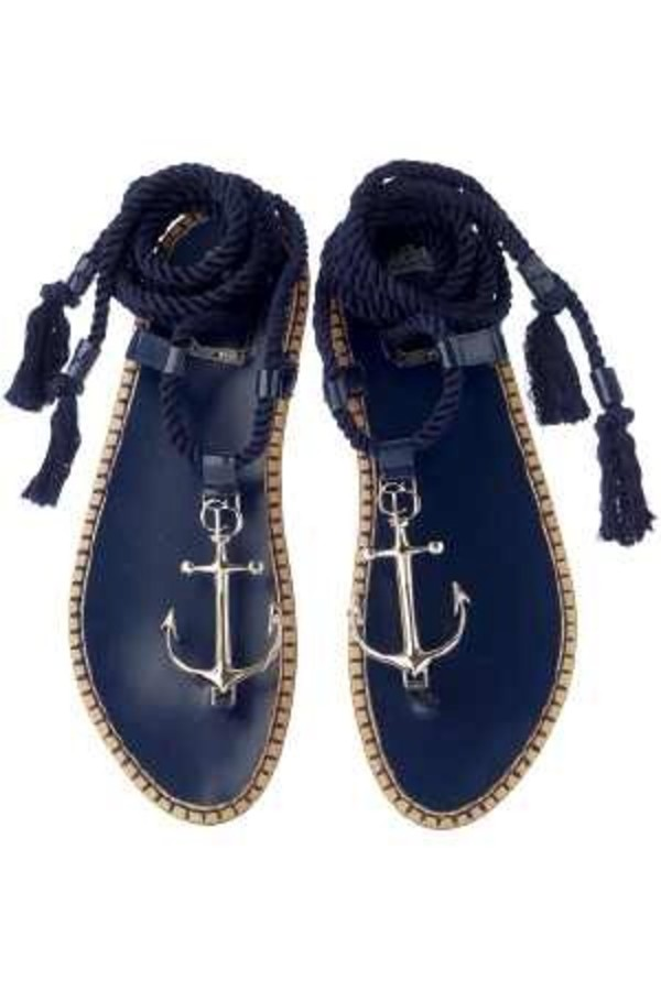 shoes anchor sailor pintrest anchors anchor shoes sandals navy
