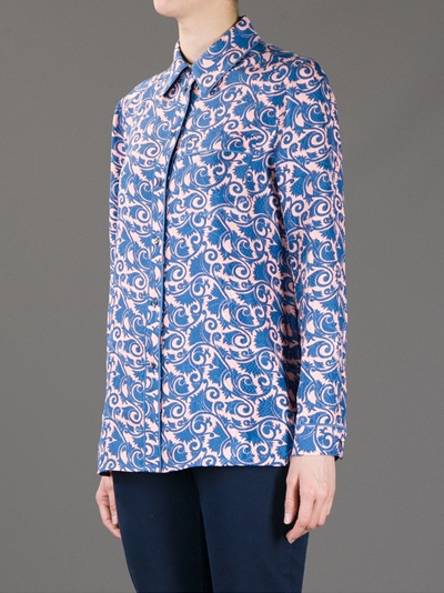 Marc By Marc Jacobs 'tootsie' Floral Print Shirt -  - Farfetch.com
