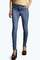 Jess mid rise super skinny knee slash jeans