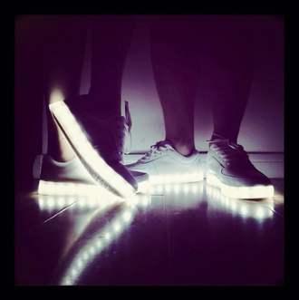 shoes simulation led white led light up shoes blouse dress