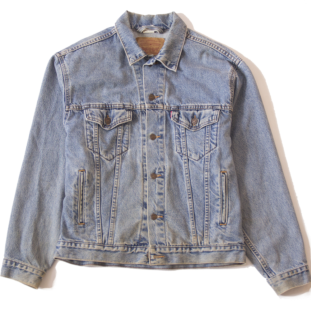 Levis faded trucker jacket