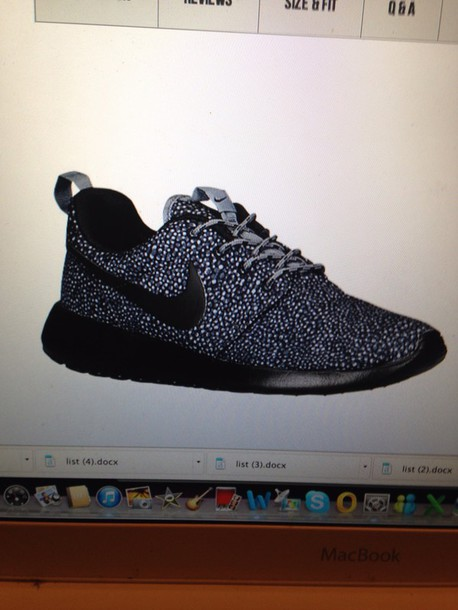 new product 71a75 4379e nike roshe run speckle ebay shoes