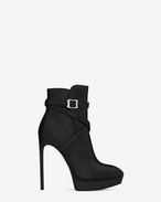 Saint Laurent CLASSIC JANIS 105 Jodhpur ANKLE BOOT IN BLACK LEATHER | YSL.com