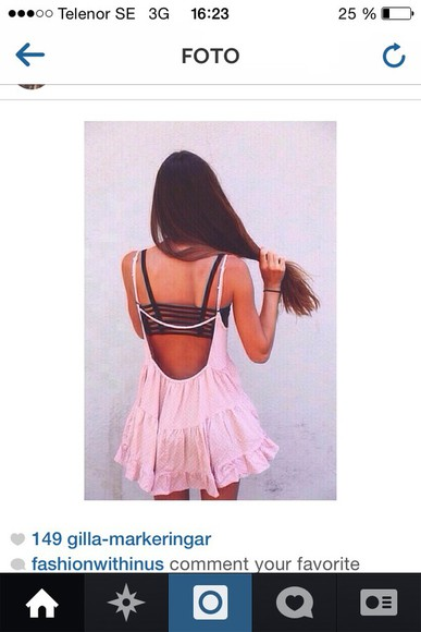 grey dress pink dress beautiful love helpmefindthisplease dress pink summer dress summer outfits helpmefind