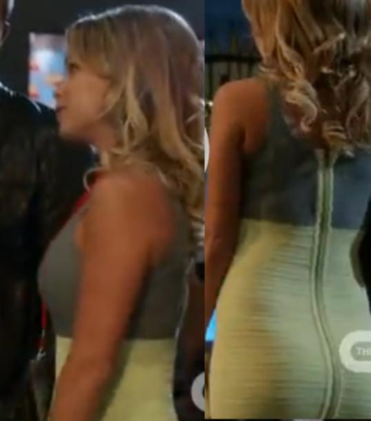 dress green grey zip kendall jenner season 5 episode 4 liam tight matt lanter 90210