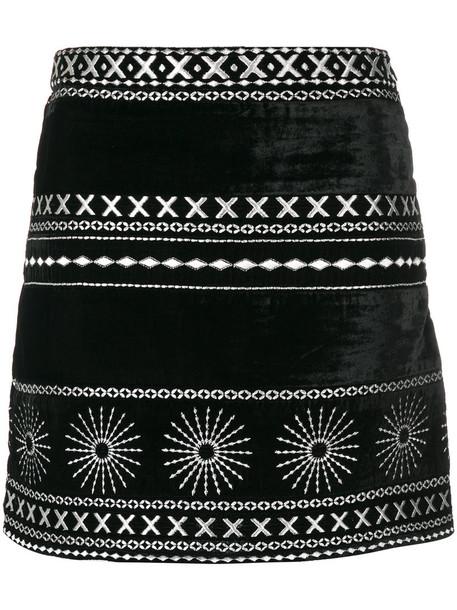 Dodo Bar Or skirt mini skirt mini women black velvet