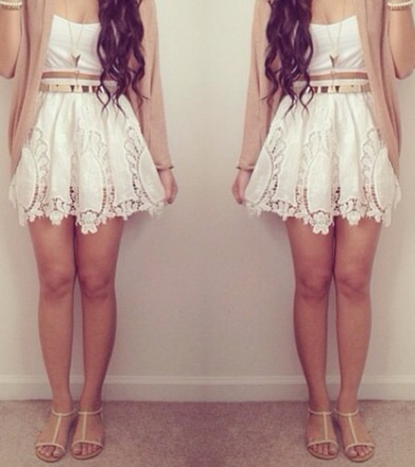 dress summer skirt jewels belt