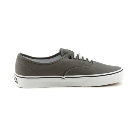 Vans Authentic Skate Shoe, Gray White, at Journeys Shoes