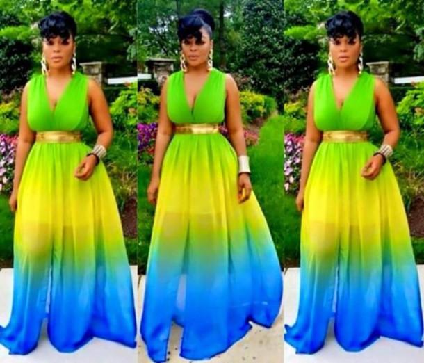 dress chiffon dress rainbow dress rainbow chiffon dress