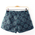 Fashion Printed Organza Shorts