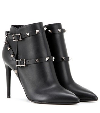 leather ankle boots noir boots ankle boots leather black shoes