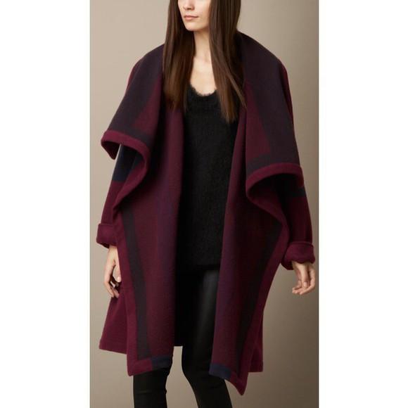 burgundy burgundy sweater cardigan long long cardigan burgundy cardigan