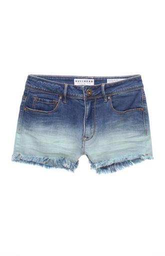 shorts dip dyed ombre bullhead pacsun