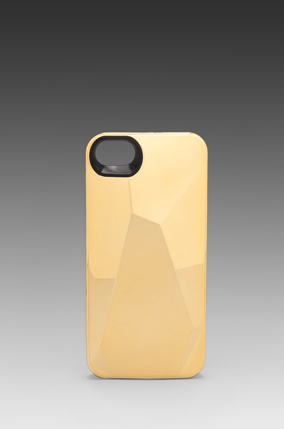 Marc by Marc Jacobs Metallic Faced Phone Case in Faceted Gold | REVOLVE
