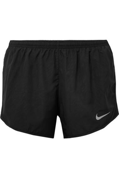 Nike shorts mesh shell black