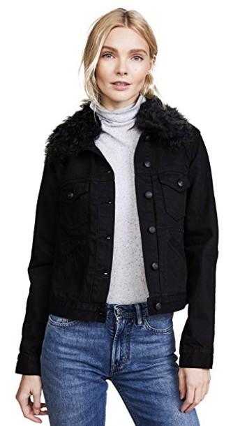 DEREK LAM 10 CROSBY jacket classic black