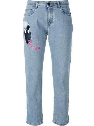 jeans fur women spandex cotton blue