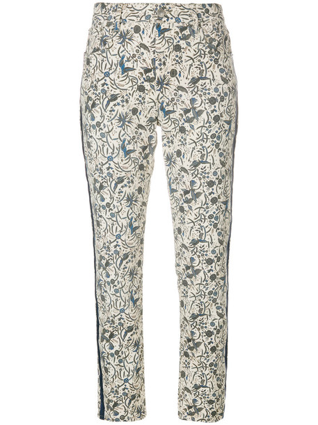 Isabel Marant etoile jeans women spandex nude cotton