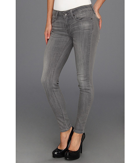 Levi's® Juniors 535™ Legging Bleached Grey - Zappos.com Free Shipping BOTH Ways