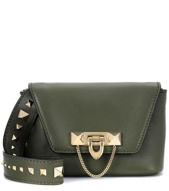 Valentino bag crossbody bag leather green
