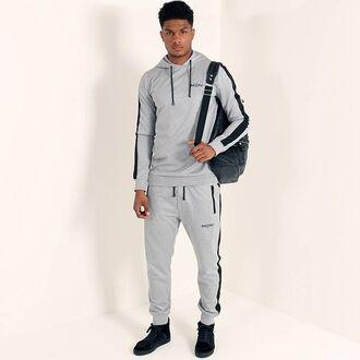 sweater maniere de voir hoody track suit tracksuit pant joggers urban menswear urban