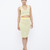 CLOUD 9 Bodycon Knit Skirt Set in Yellow at FLYJANE