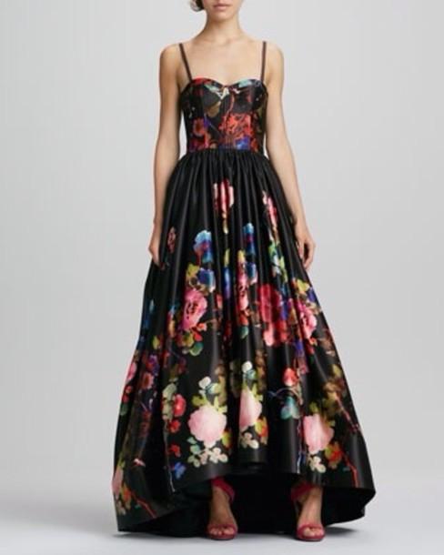 dress, alice+olivia, prom dress, neiman marcus - Wheretoget