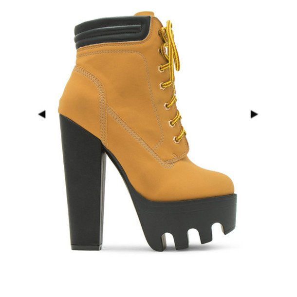 booties nubuck tan timberland high heels boots high. Black Bedroom Furniture Sets. Home Design Ideas