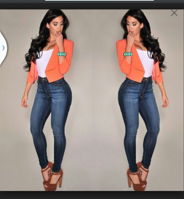 jeans shoes jacket