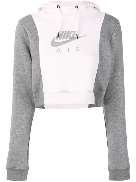 Nike hoodie women cotton purple pink sweater